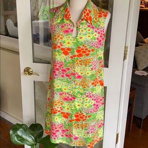 Perfect Vintage Flower Dress